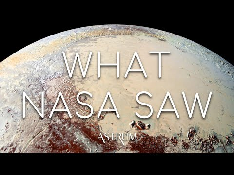 What did NASA's New Horizons discover around Pluto?
