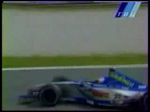 1999 Monza - Luca Badoer se despista