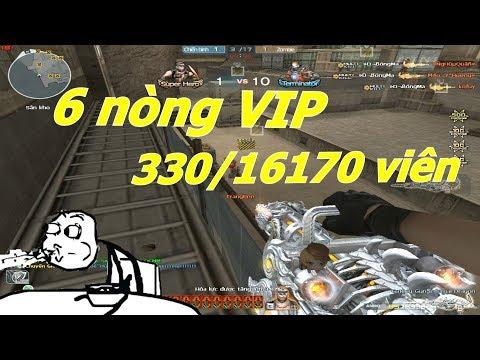Kỷ Lục Đạn CFVN 6 Nòng VIP Hơn 16000 Viên - Tiền Zombie v4 - Thời lượng: 10:11.