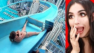 Video WATERSLIDES THAT YOU WON'T BELIEVE EXIST MP3, 3GP, MP4, WEBM, AVI, FLV Agustus 2019