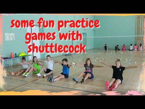 Badminton trening