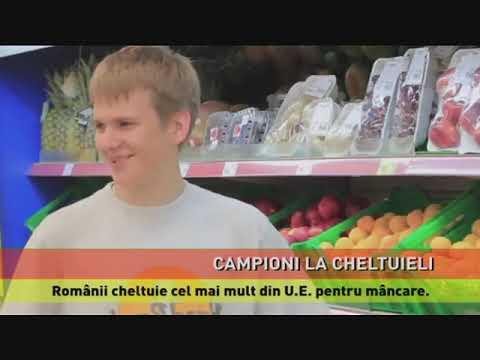 Românii, campioni la cheltuielile cu mancarea și băutura