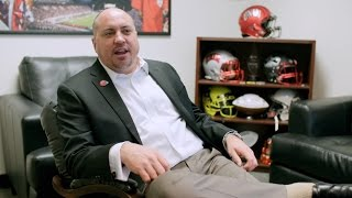 Interview with Football Coach Tony Sanchez