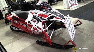 9. 2018 Yamaha Sidewinder L-TX 50th Anniversary Sled - Walkaround - 2017 Toronto Snowmobile ATV Show