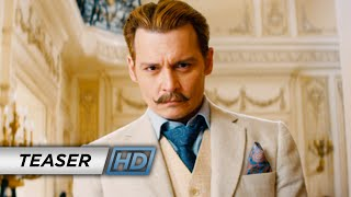 Mortdecai  2015 Movie   Johnny Depp    Official Teaser Trailer