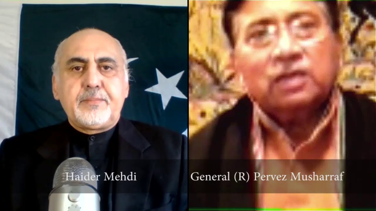 General (R) Pervez Musharraf interview on Perspectives by Haider Mehdi thumbnail