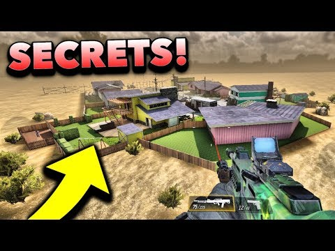Top 10 NEW Secret Locations! (Call of Duty Mobile)