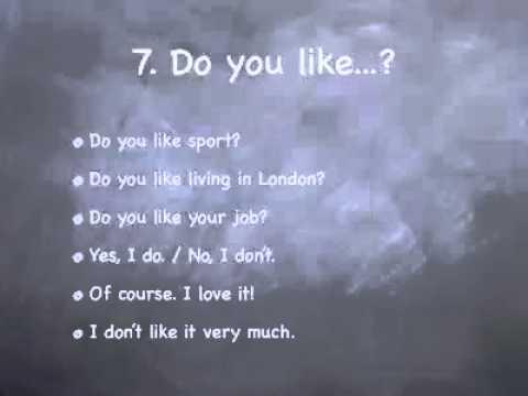 10 Preguntas (y Respuestas) para Inglés Básico