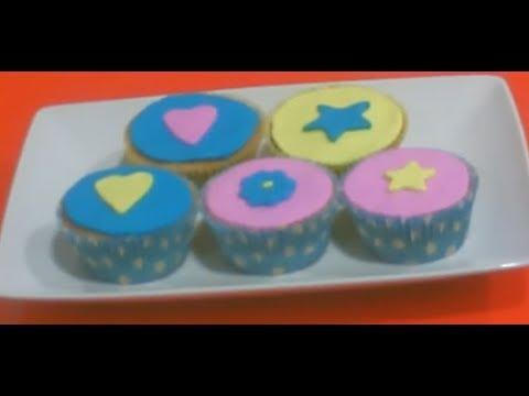 Cómo decorar cupcake con fondant  facilisimo.com