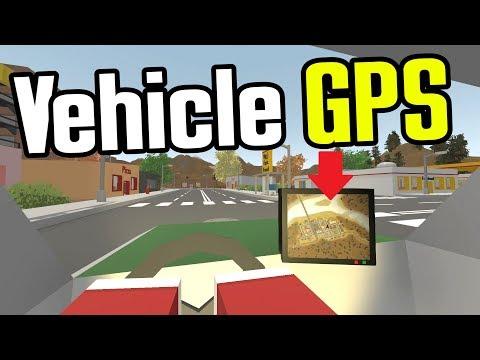 Unturned - Vehicle GPS & Saddlebags!! (Unturned Mod Showcase) (видео)