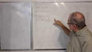 Algebra Intermedia - Lección 35 - A (solución De Ecuaciones Cuadráticas, Completando Cuadrados)