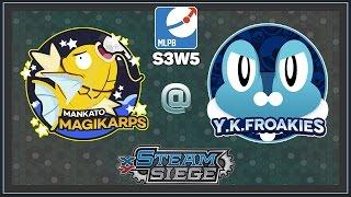 Pokemon TCG - MLPB S3W4 MANKATO MAGIKARP VS Y.K. FROAKIES by Papa Blastoise
