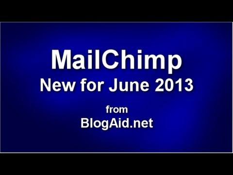mailchimp - http://www.blogaid.net . A new MailChimp User Interface (UI) was released on June 17th. You'll have until July 15th to become familiar with it before the swi...