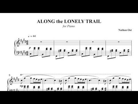 Nathan Ost - Along the Lonely Trail (piano)