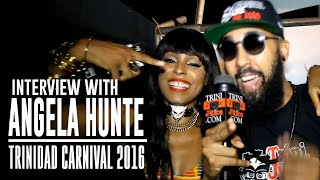 Angela Hunte Interview – Machel Monday 2016