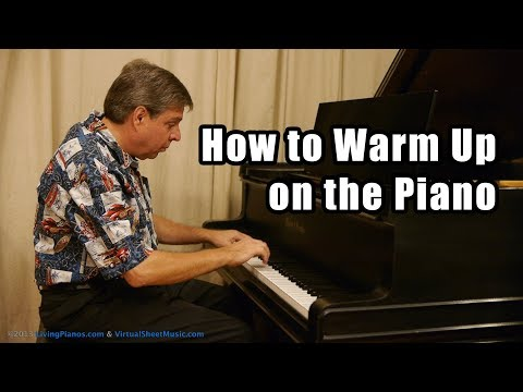 How to Warm Up on the Piano