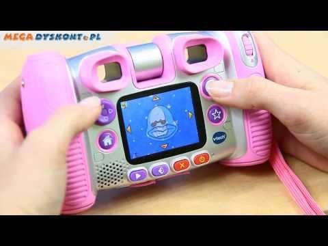 aparat - Szczegóły na stronie: http://sklep.megadyskont.pl/pl/aparat-kidizoom-twist-plus-rozowy-vtech-140853.html Większy ekran, nowe gry, nowe efekty, więcej zabawy!...