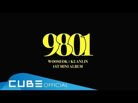 """우석X관린(WOOSEOKXKUANLIN) - 1st Mini Album """"9801"""" Audio Snippet - Thời lượng: 84 giây."""