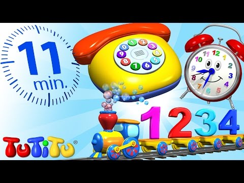 TuTiTu Specials | Numbers Toys and Songs for Children | Learning Numbers for Toddlers
