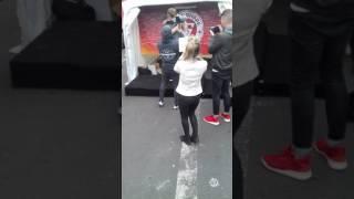 Rencontre de tiboinshape au salon du boly fitness a paris