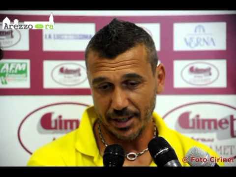 Arezzo-Sansepolcro 1-2, intervista a Mezzanotti