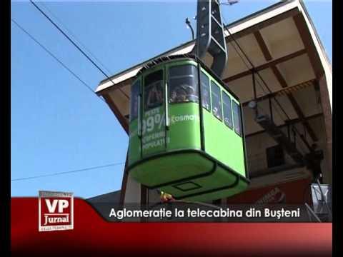 Aglomeraţie la telecabina din Buşteni
