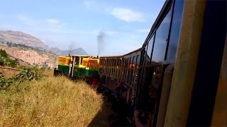 Matheran India  city pictures gallery : Hill trains of India - Neral Matheran Toy Train Journey After Rains.