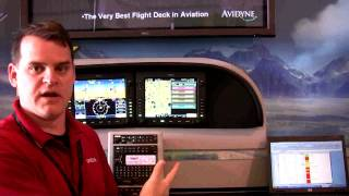 Avidyne Entegra Release 9 - Loading An Approach - Watch In HD!