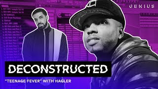 "The Making Of Drake's ""Teenage Fever"" With Hagler 
