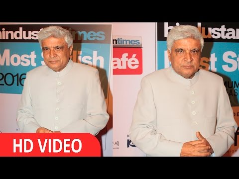 Javed Akhtar At HT Mumbai's Most Stylist Awards