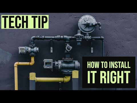 how to assemble type b gas vent