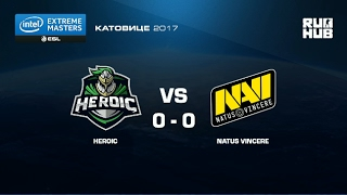 Heroic vs. NaVi - IEM Katowice EU - map2 - de_nuke [yxo, Enkanis]