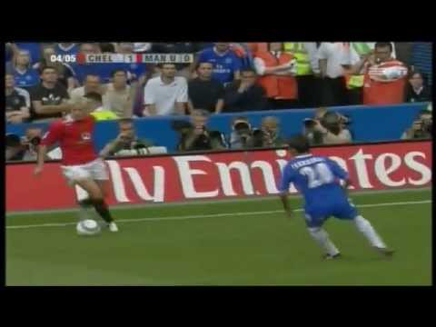 Chelsea 1-0 Manchester United 2004-05 (Mourinho's first game) (видео)