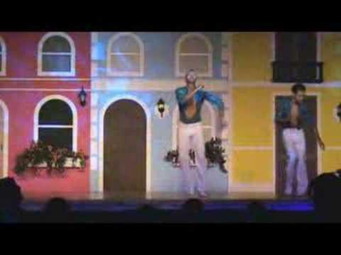 Сальса, мужское соло исполняют CHINO и JASON MOLINA