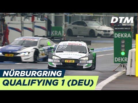 DTM Nürburgring 2018 - Qualifying Rennen 1 - RE-LIVE (Deutsch)