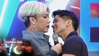Video GGV: Did Vice let Aljur kiss him? MP3, 3GP, MP4, WEBM, AVI, FLV Mei 2018