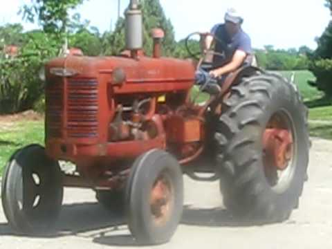 1948 McCormick Deering Farmall IHC W-6 W 6 Tractor Starts and Runs For Sale