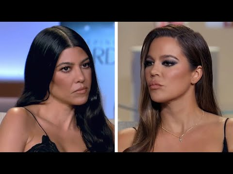 KUWTK REUNION: Khloe Kardashian Calls Out Sister Kourtney for Not Sharing Her Love Life