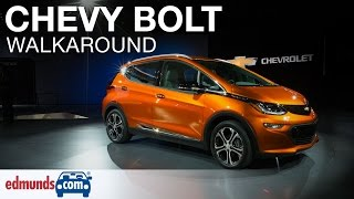 2017 Chevrolet Bolt EV Walkaround | Detroit Auto Show