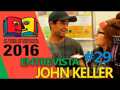 Entrevista com John Keller | Bienal do Livro 2016