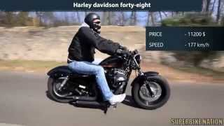 8. Indian Scout vs Harley Davidson forty eight