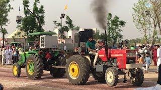 Swaraj 855 vs Johndeere 5310 Tractor Tochan Punjab