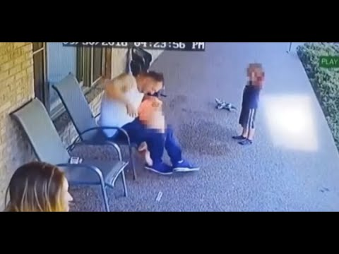 DISTURBING: Video Shows Father Violently Spanking, Beating His 6-year-old Child