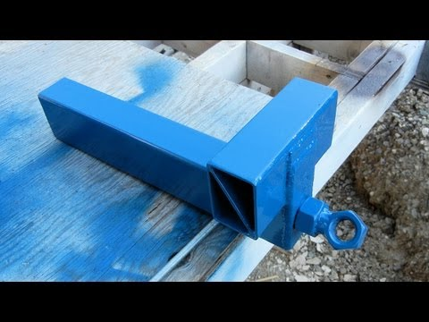 Making A Steel Bench Vise, Part 3 of 3