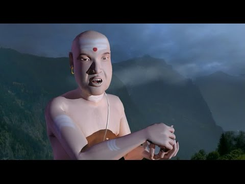 "3D Animated movie ""The Four Brahmins"" - Divition  2"