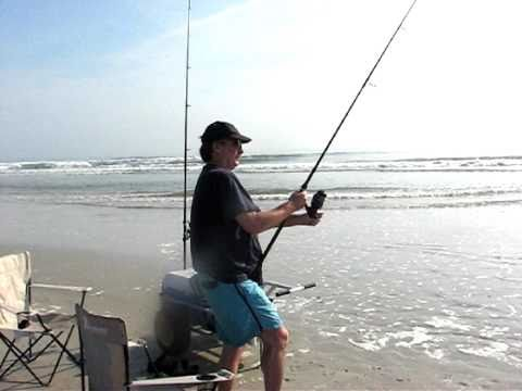 Surf Fishing and Sun Burns