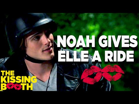 Noah Gives Elle A Ride | The Kissing Booth