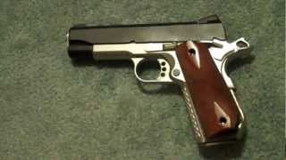 Ed Brown Special Forces, Commander, with Larry Davidson Radial Bobtail grips in G10: 1911 45ACP