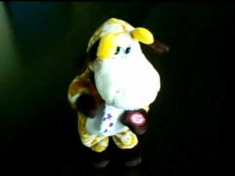 Yellow Deer Toy