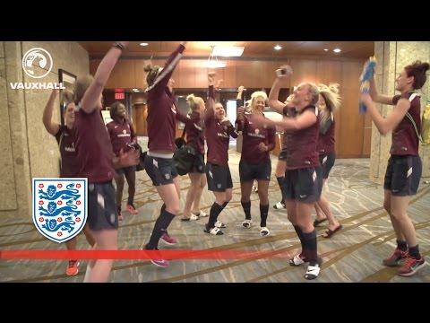 Video: England women's team do the Toure chant better than Steven Gerrard and Liverpool